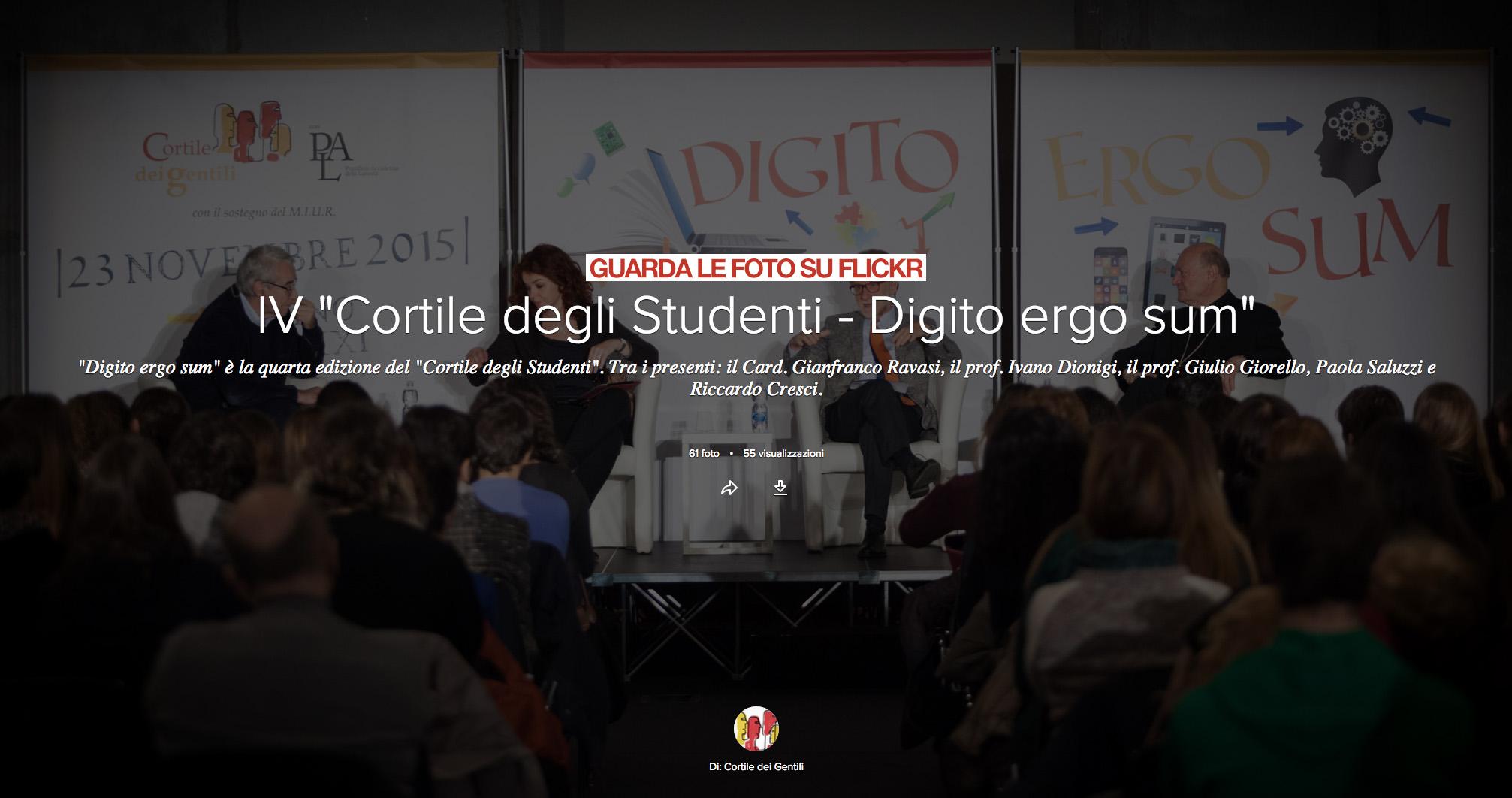 • Gallery DIgito Ergo Sum